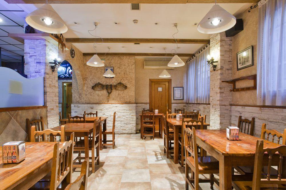 restaurante pamplona iluminación reforma