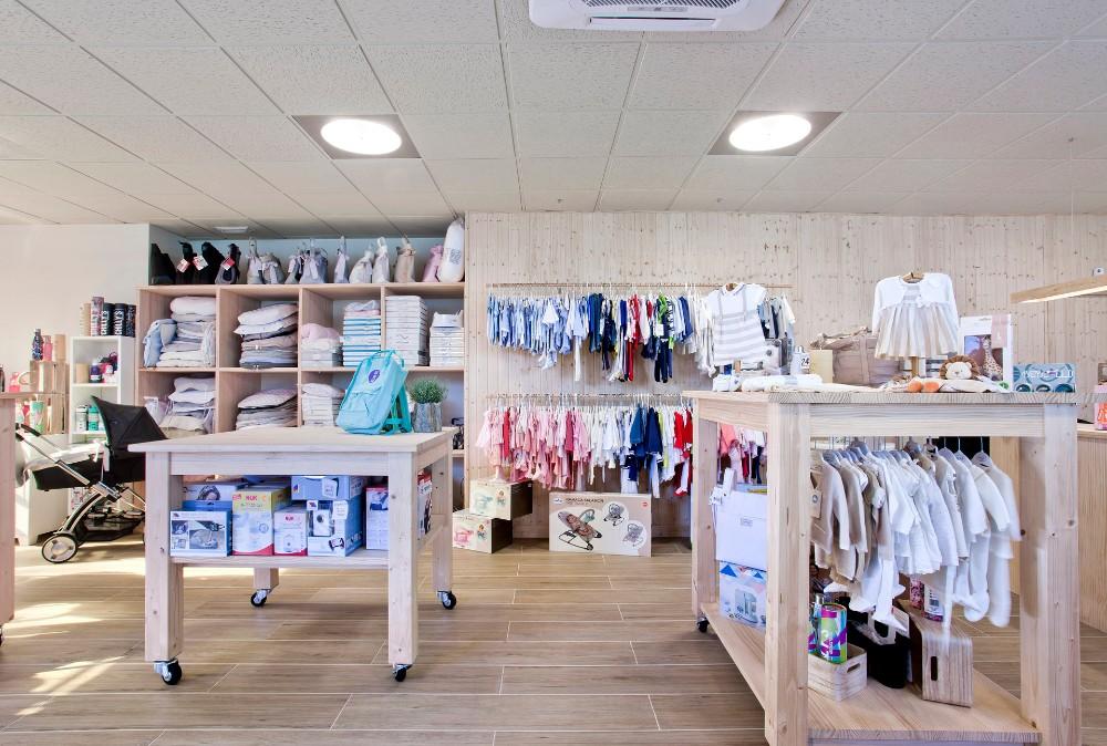 tienda infantil cambio reforma local