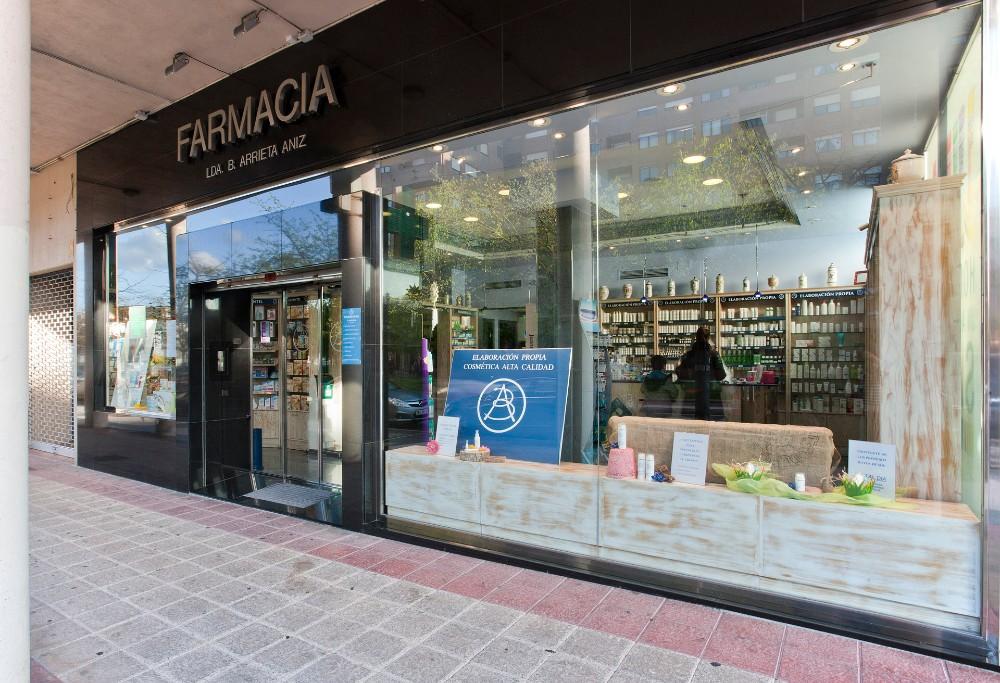 iluminación cambio reforma farmacia