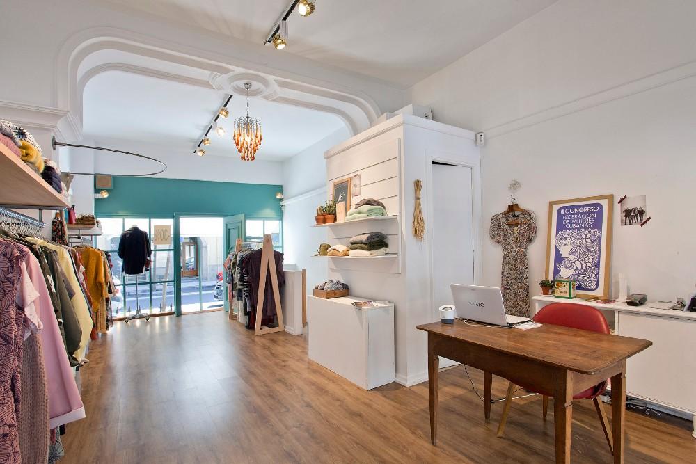 iluminación cambio reforma tienda moda