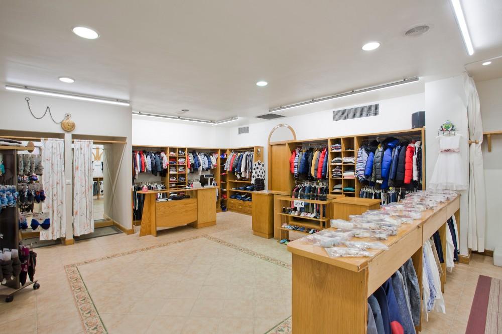 reforma tienda cambio iluminación